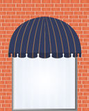 Awning Royalty Free Stock Photo