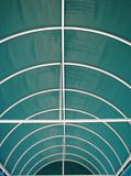 Awning. Close up view of fabric overhang canopy awning royalty free stock photos