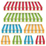 Awning decorations Stock Image