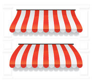 Awning Set 1 Royalty Free Stock Photo