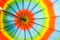 Awning sun shade,Colorful fabric texture of umbrella. For background stock image