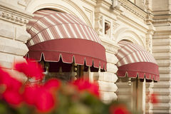 Awnings Royalty Free Stock Image