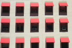 Awnings Stock Photography