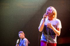 Awolnation concert at Bumbershoot Stock Photography