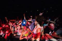 Awolnation fans at Bumbershoot Royalty Free Stock Image