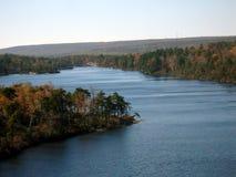 awosting的湖 库存照片