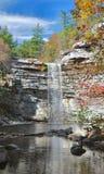 Awosting cade in autunno Fotografie Stock Libere da Diritti