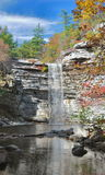Awosting Falls In Autumn Royalty Free Stock Photos