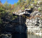 Awosting Falls in New York Royalty Free Stock Photo