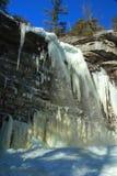 awosting icicles замерли падениями, котор Стоковое Изображение