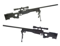 AWP sniper. AWP sniper rifle on white background Stock Images