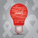 Awreness do AIDS ilustração do vetor