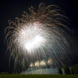 Awsome Fireworks Background Royalty Free Stock Photo