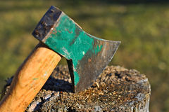 The Ax Royalty Free Stock Photo