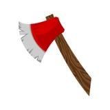 Ax cartoon vector icon. A cartoon vector illustration of an ax to chop wood Stock Photography