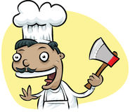 Ax Chef Royalty Free Stock Images