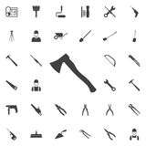Ax Icon. Construction icons universal set for web and mobile Stock Photos