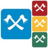The ax icon. Axe symbo Stock Photo