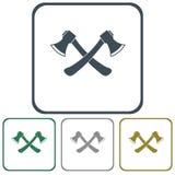 The ax icon. Axe symbol. Flat Vector illustration Royalty Free Stock Image