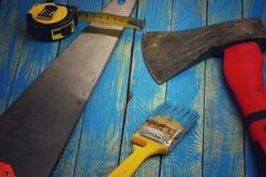 Ax, muśnięcie, taśma Zdjęcie Stock