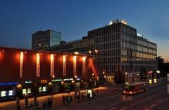 Axa building Brno stock images