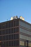 AXA insurance company stock photo