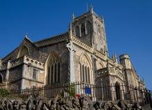 Axbridge Kirche Somerset England Lizenzfreies Stockfoto