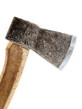 Axe. An old axe over the white background Stock Image