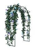 axe de jardin du rendu 3D sur le blanc Image libre de droits