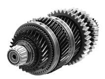 Axe de transmission automatique de voiture, changement de vitesse automatique de voiture d'isolement sur le fond blanc images stock