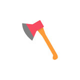 Axe flat icon, build repair elements Royalty Free Stock Photo