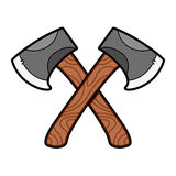 Axe graphic stock illustration