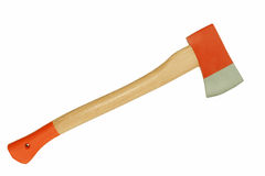Axe - isolated. Standard ax - metaphor or actual, it looks just the same Royalty Free Stock Photo