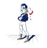 Axe man stock illustration