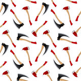 Axe pattern extended Stock Photography