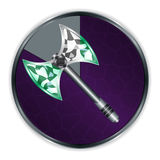 Axe in Progress Frame Royalty Free Stock Photography