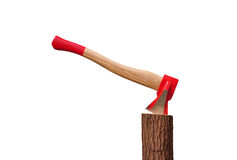 Axe on stem Stock Images