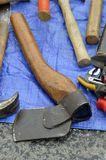 Axe, Tool, Antique Tool, Hatchet royalty free stock photo