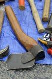 Axe, Tool, Antique Tool, Hatchet stock photography