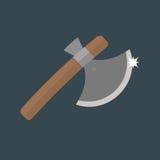 Axe weapon vector illustration. Royalty Free Stock Photos