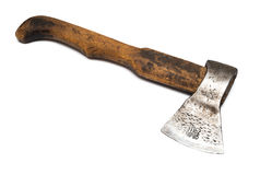 Axe with wooden handle Royalty Free Stock Photography