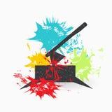 axel Иллюстрация вектора Grunge бесплатная иллюстрация