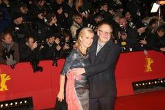 Axel Milberg och hans fru Judith Milberg Royaltyfri Fotografi