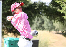 Axel Petit at the golf Prevens Trpohee 2009 Royalty Free Stock Photography