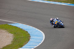 Axel Pons pilot of MOTO2 in the CEV Royalty Free Stock Images
