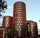 Axel Towers Copenhagen Arkivfoton