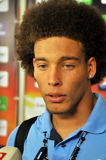 Axel Witsel face big view Royalty Free Stock Photo
