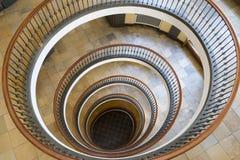 Axelborg塔心房在哥本哈根,丹麦 免版税图库摄影
