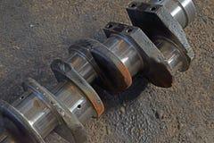 Axellastbilen för pistonger arkivbilder