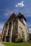 Axente разъединяет церковь в Frauendorf, Румынии стоковые изображения rf
